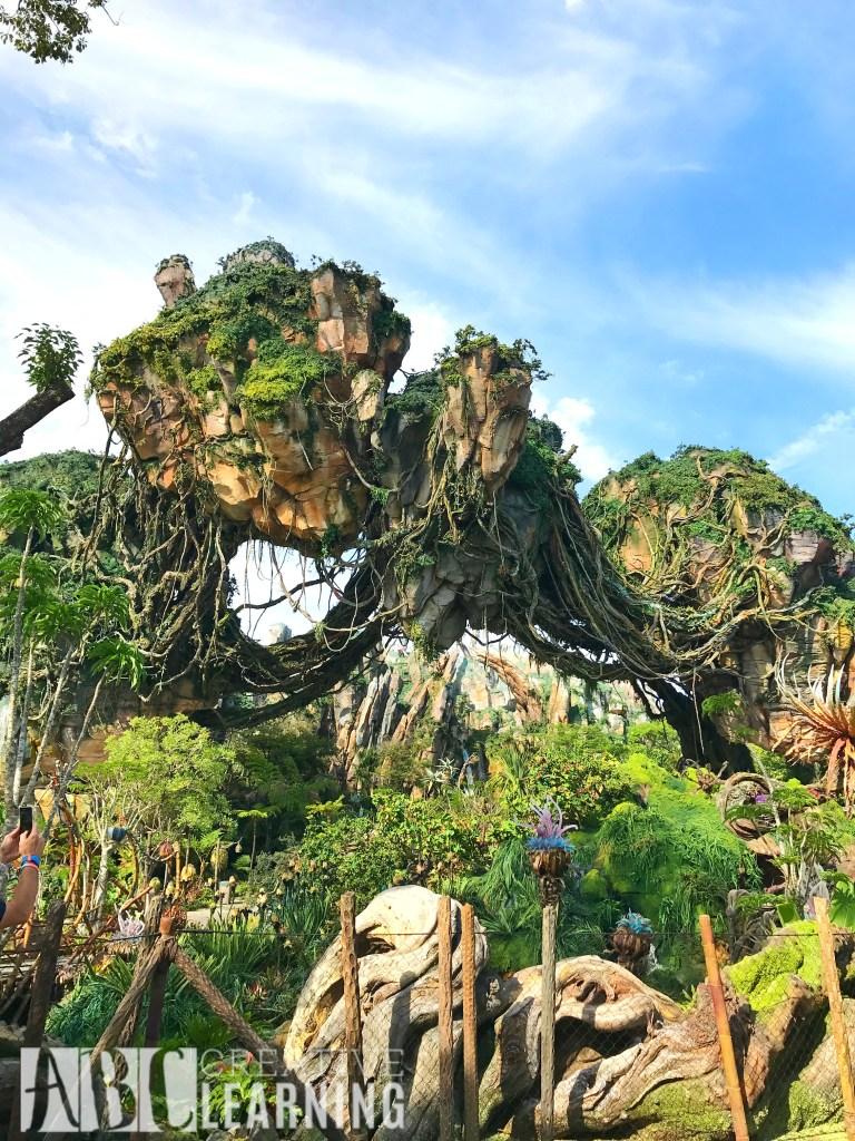 Pandora - World of Avatar at Disney's Animal Kingdom | 5 Things To Experience #VisitPandora Floating Mountains