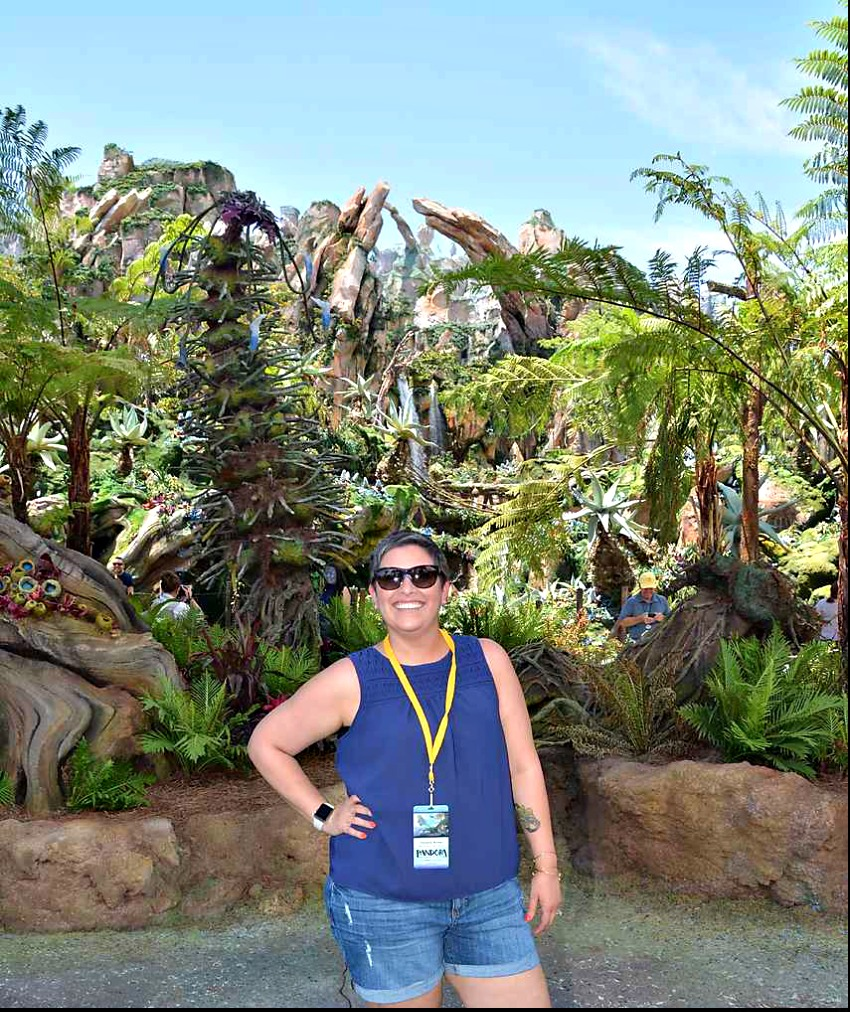 Pandora - World of Avatar at Disney's Animal Kingdom | 5 Things To Experience #VisitPandora Me at Pandora