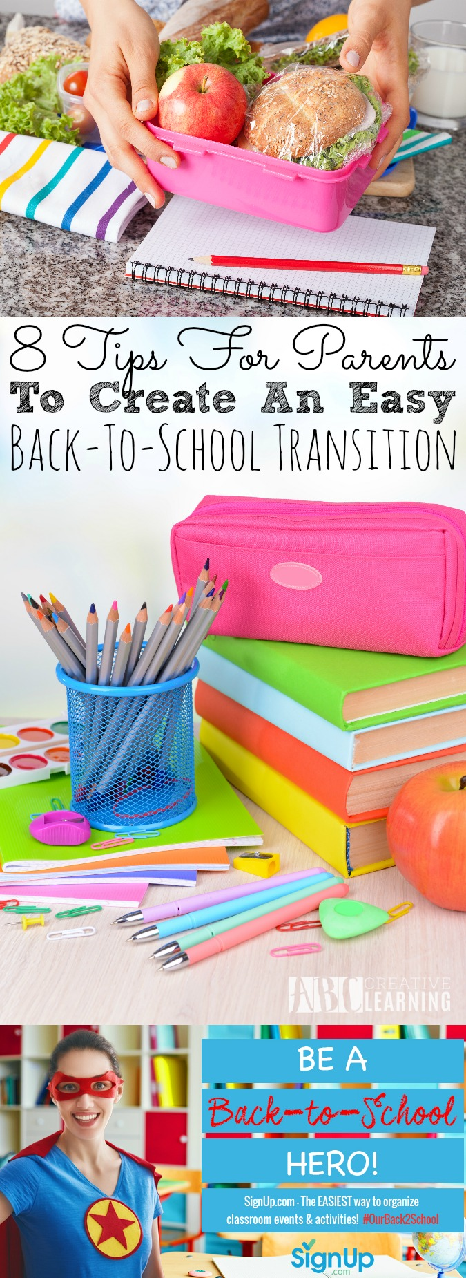 Tips For Parents To Create An Easy Back To School Transition