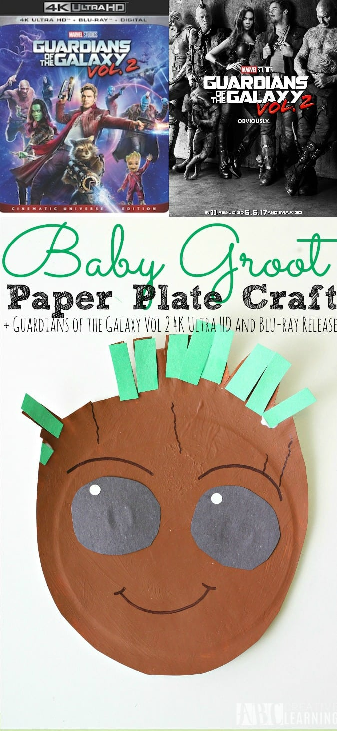 Baby Groot Craft