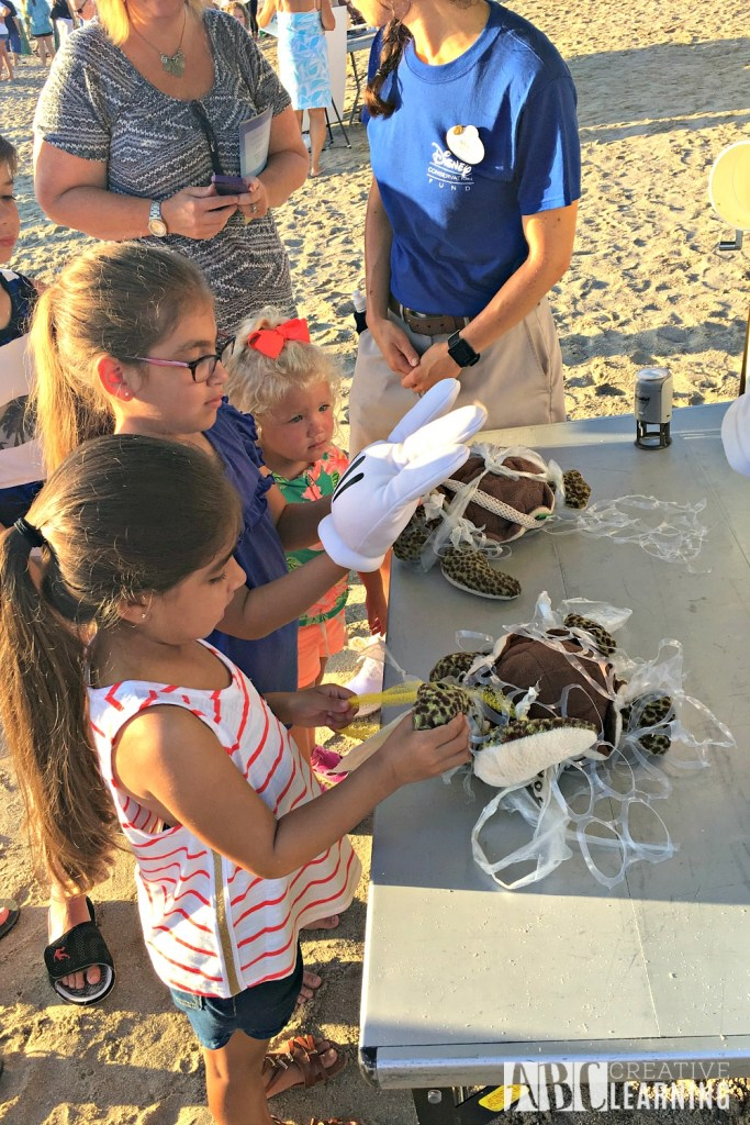 Teaching Our Youth To Take Care Of The Earth   Tour de Turtles at Disney's Vero Beach Resort - Cleaning Our Oceans