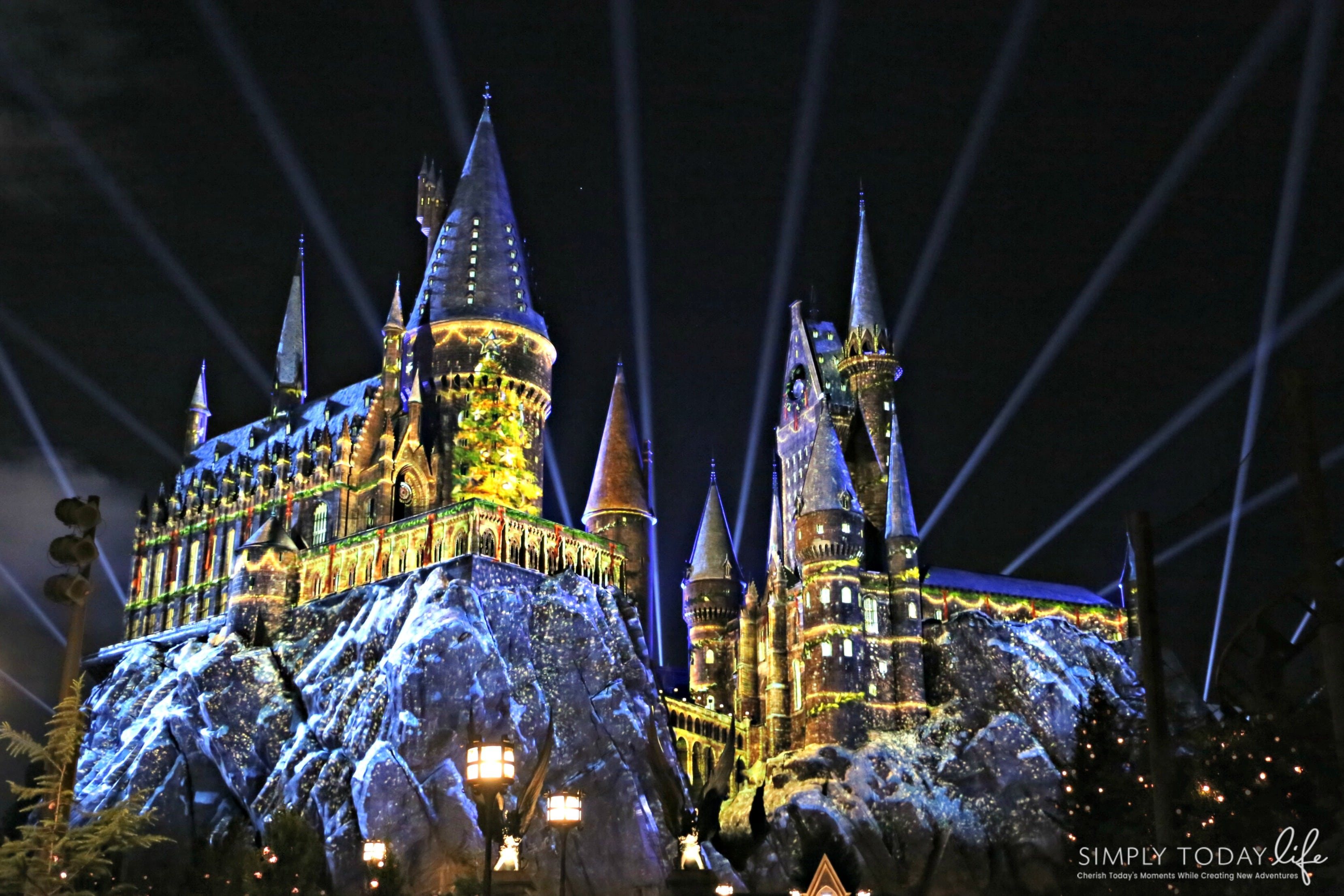 Family Guide To Celebrating the Holidays at Universal Orlando Resort - Christmas at the Wizarding World of Harry Potter