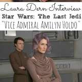 Interview with Laura Dern the Last Jedi
