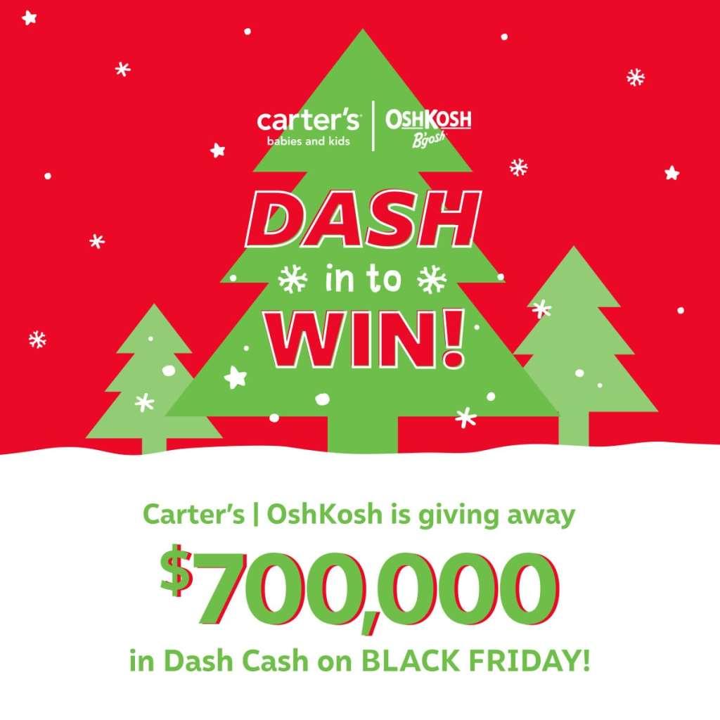 OshKosh B'gosh Dash Cash Giveaway