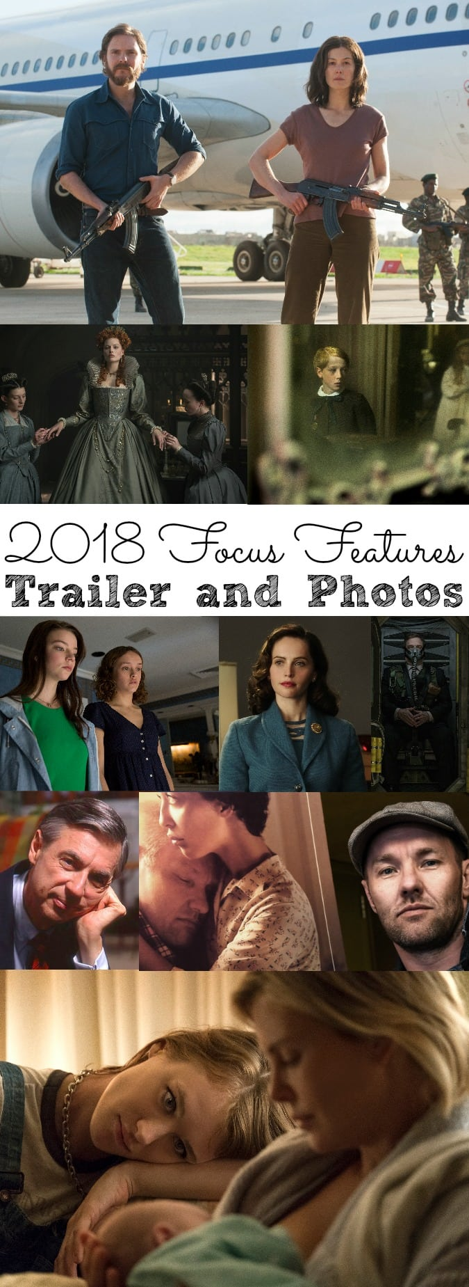 2018 Focus Features Movie Slate Trailer and Photos - simplytodaylife.com