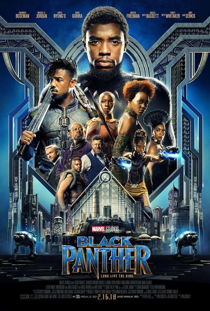 Black Panther Marvel Poster - simplytodaylife.com