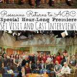 Roseanne Cast Interviews