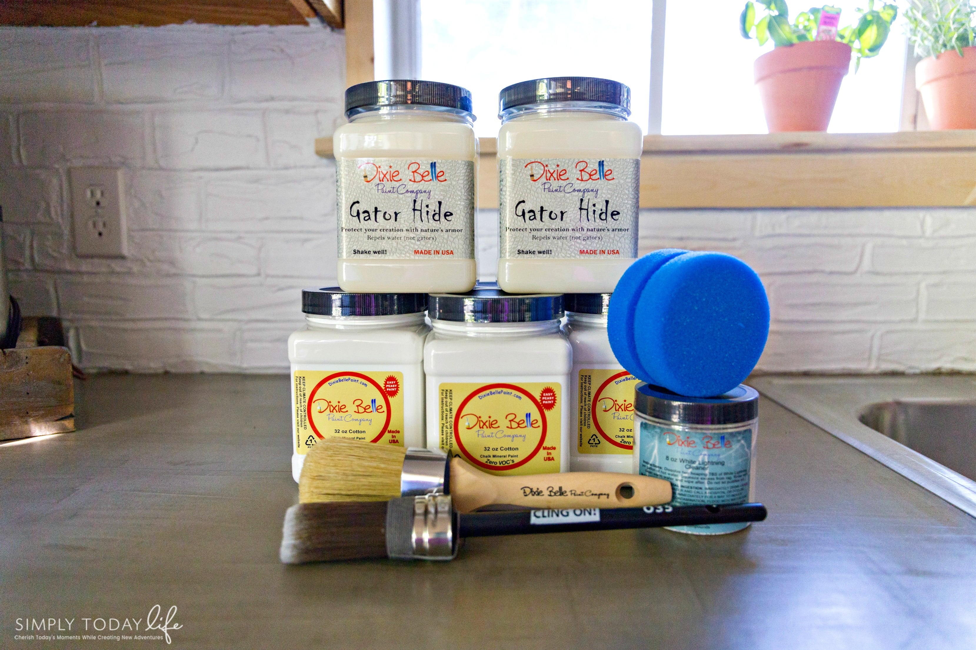 Painting Kitchen Cabinets With Chalk Paint From Dixie