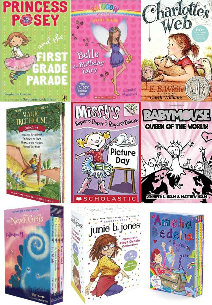 chapter book series - Best Books For 7 Year Old Girls | All Year Long - simplytodaylife.com
