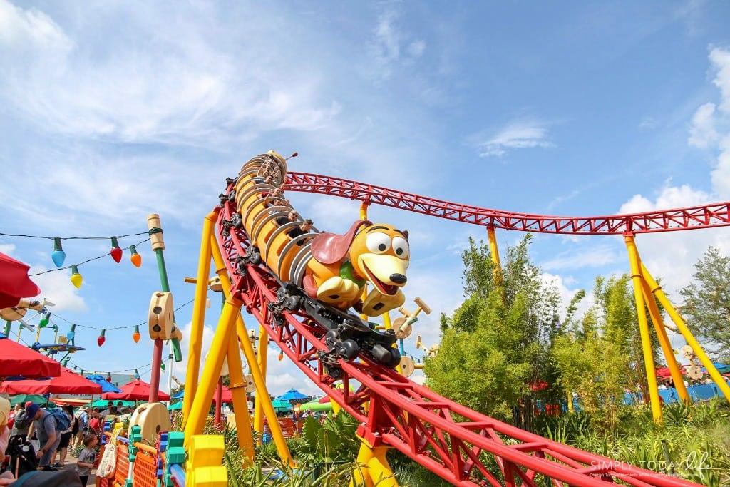 Toy Story Slinky Dash Dog Coaster