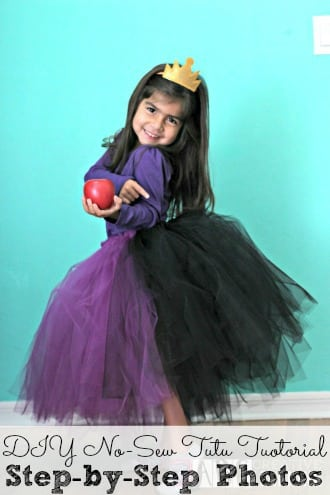 DIY No Sew Tutu Tutorial