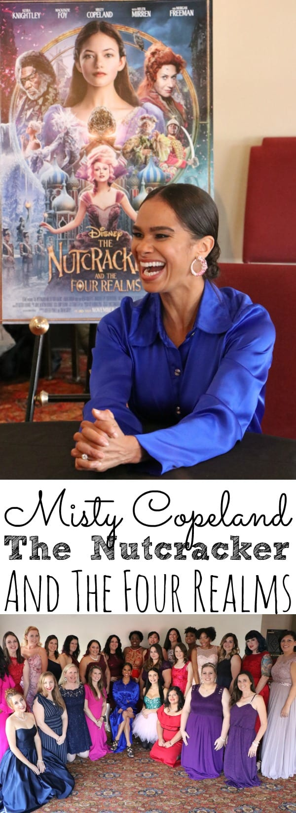 Interview with Misty Copeland The Nutcracker and the Four Realms