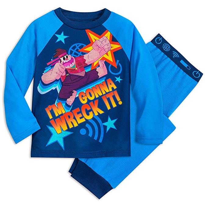 Wreck it Ralph Disney Pajama Set for Kids