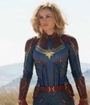 Captain Marvel Secret Set Visit