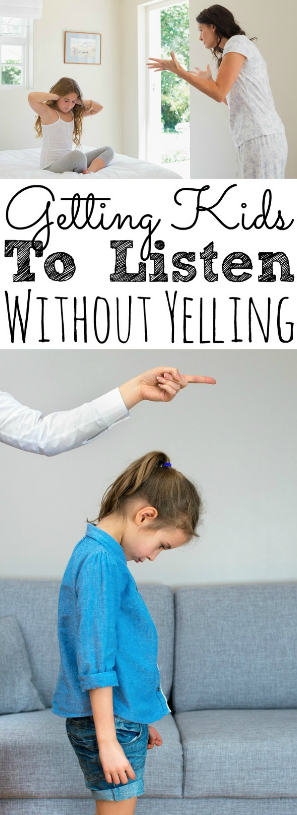 Getting Kids To Listen Without Yelling
