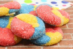 Dumbo Circus Cake Mix Cookies