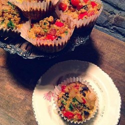 Quinoa and vegetables muffins