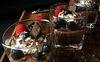 Mock Chocolate Tiramisu, Eggless