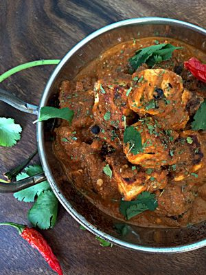 Paneer Tikka Masala Curry