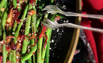 Green Beans & Caramelized Onions