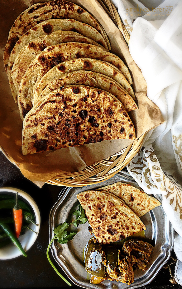 Cheese & Chili Parantha