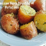 Parmesan Herb Crusted Potatoes