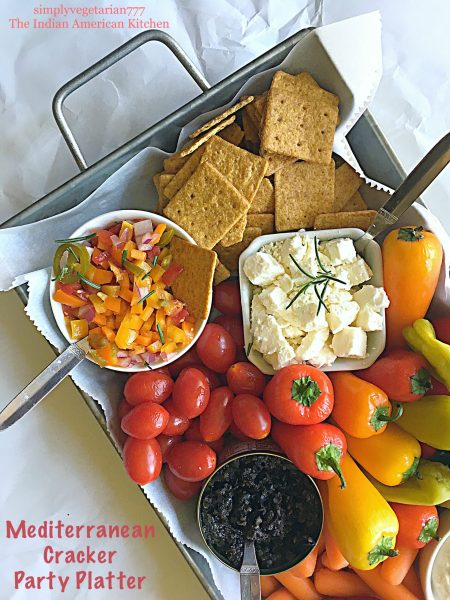 Mediterranean Cracker Party Platter