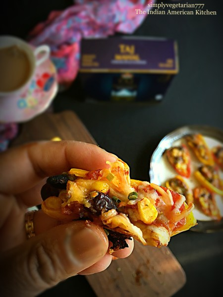 Spicy Mexican Poppers with Brooke Bond Taj Mahal Tea