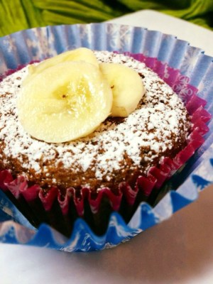 Banana Oats Cupcakes