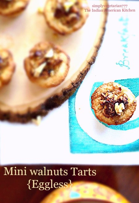 Walnut Dessert Tartlets with Tart Dough Recipe