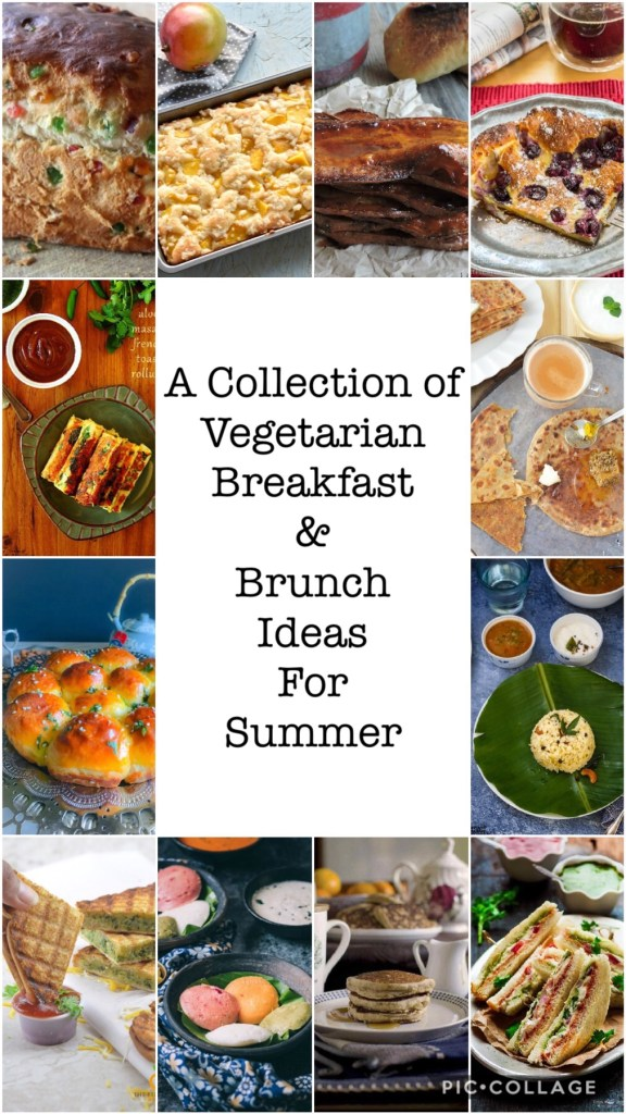 Vegetarian Breakfast Recipes Collection