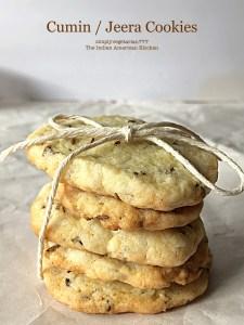Jeera/Cumin Cookies