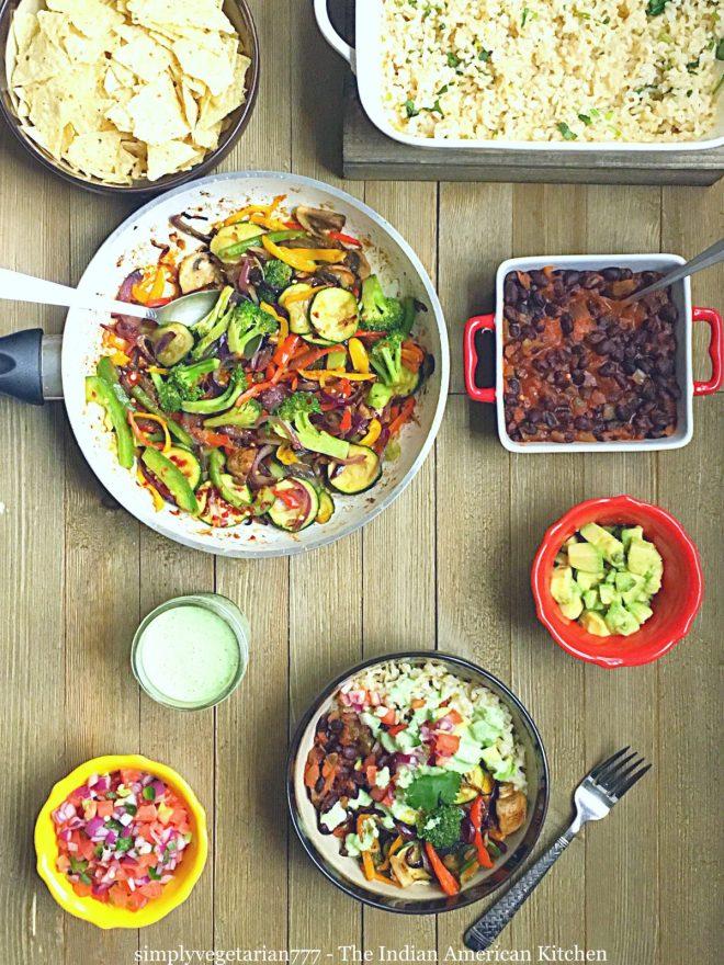Vegetarian Cantina Salad Bowl, Tex Mex Salad, Giant Eagle Curbside Express Delivery #ad #GiantEagleDelivers  #vegetariansalad #texmex #cantinasalad #easyrecipes