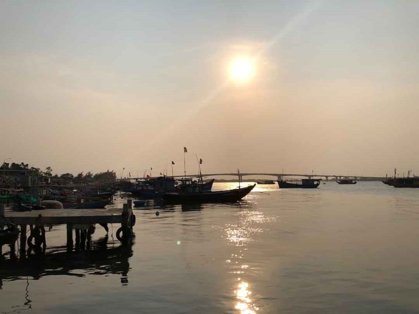 My Son sunset and Hoi An by night