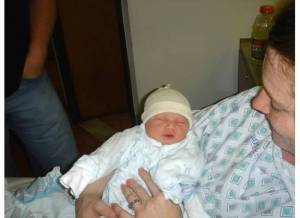 Abby postpartum