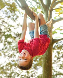 urgent care child in tree