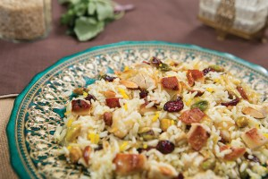 rice with barberries