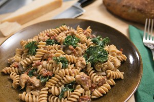 sausage and kale pasta