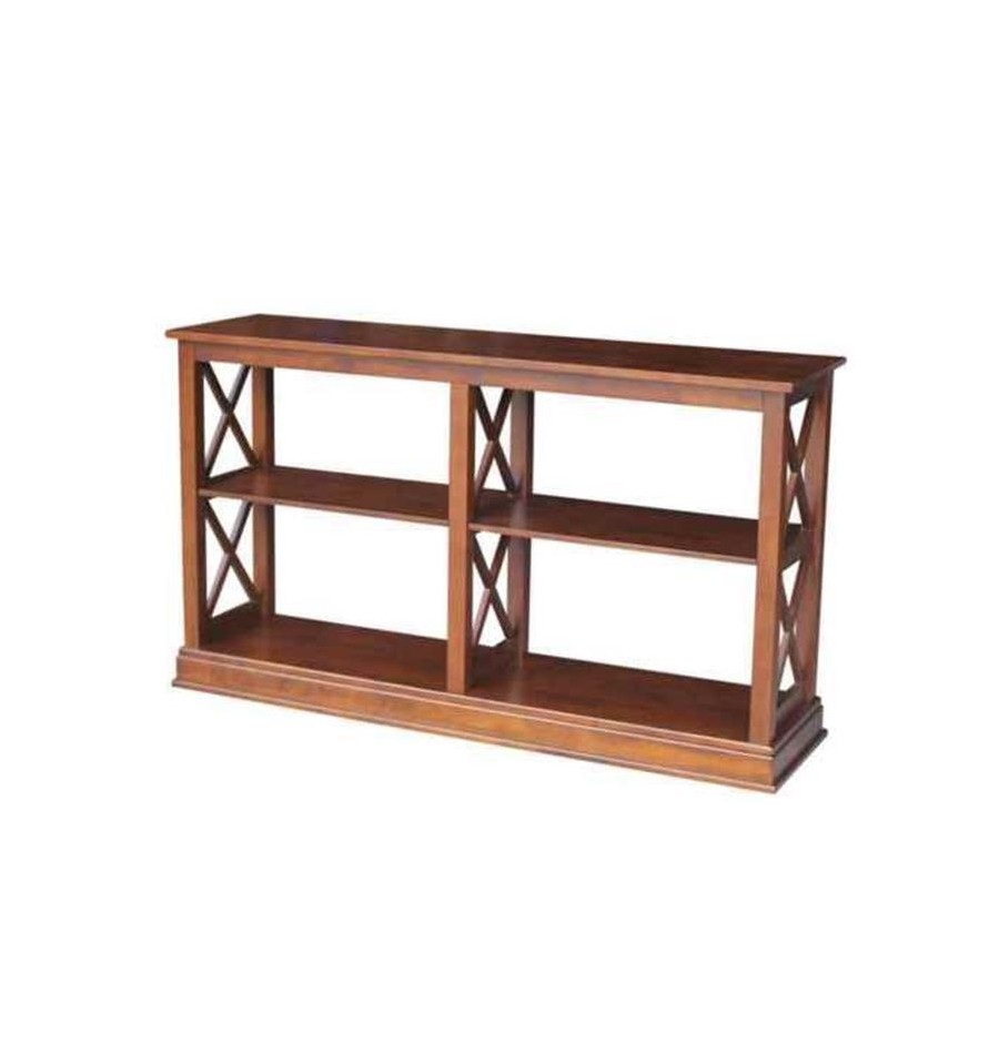 60 Inch X Side Richmond Sofa Table Simply Woods