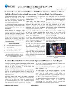 Newsletter 16Q3