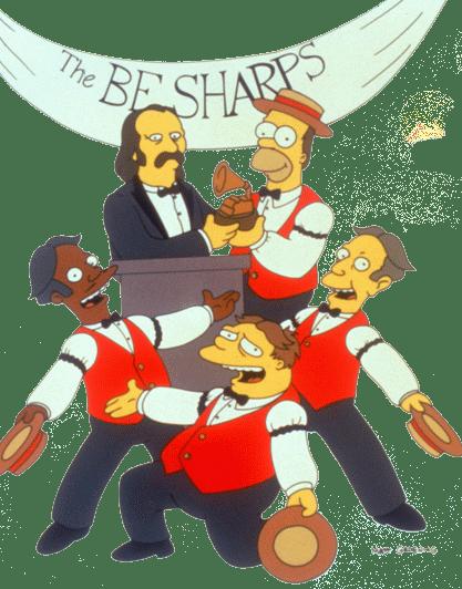9F21: Homers Barbershop Quartet (1/6)