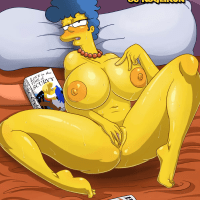 Simpsons pornography comics - Magnificent Marge Glamour Dreams