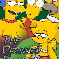 [Comics Toons] The Drunken Family (The Simpsons): These dudes have wrong counterparts but still having joy!