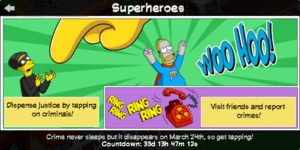 TSTO Superheroes Help panel.png