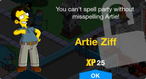 Tapped Out Artie Ziff.png