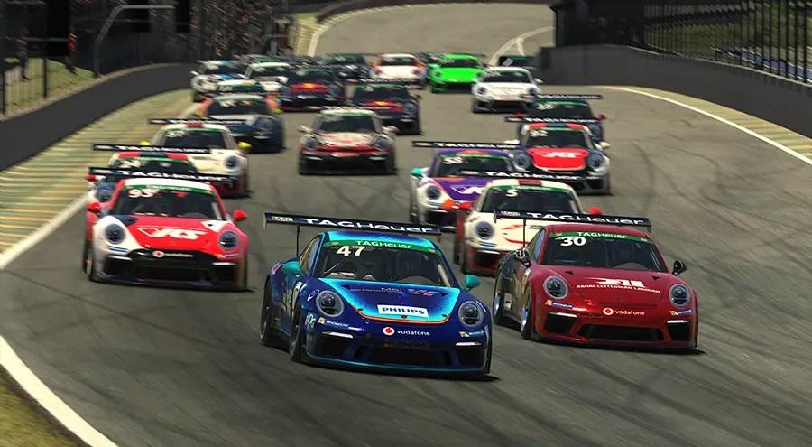 iRacing Porsche Supercup:Ellis opens his account at Interlagos