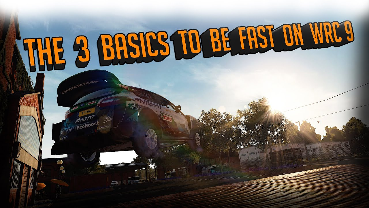 WRC 9 Tips To Be Fast Beginners Guide