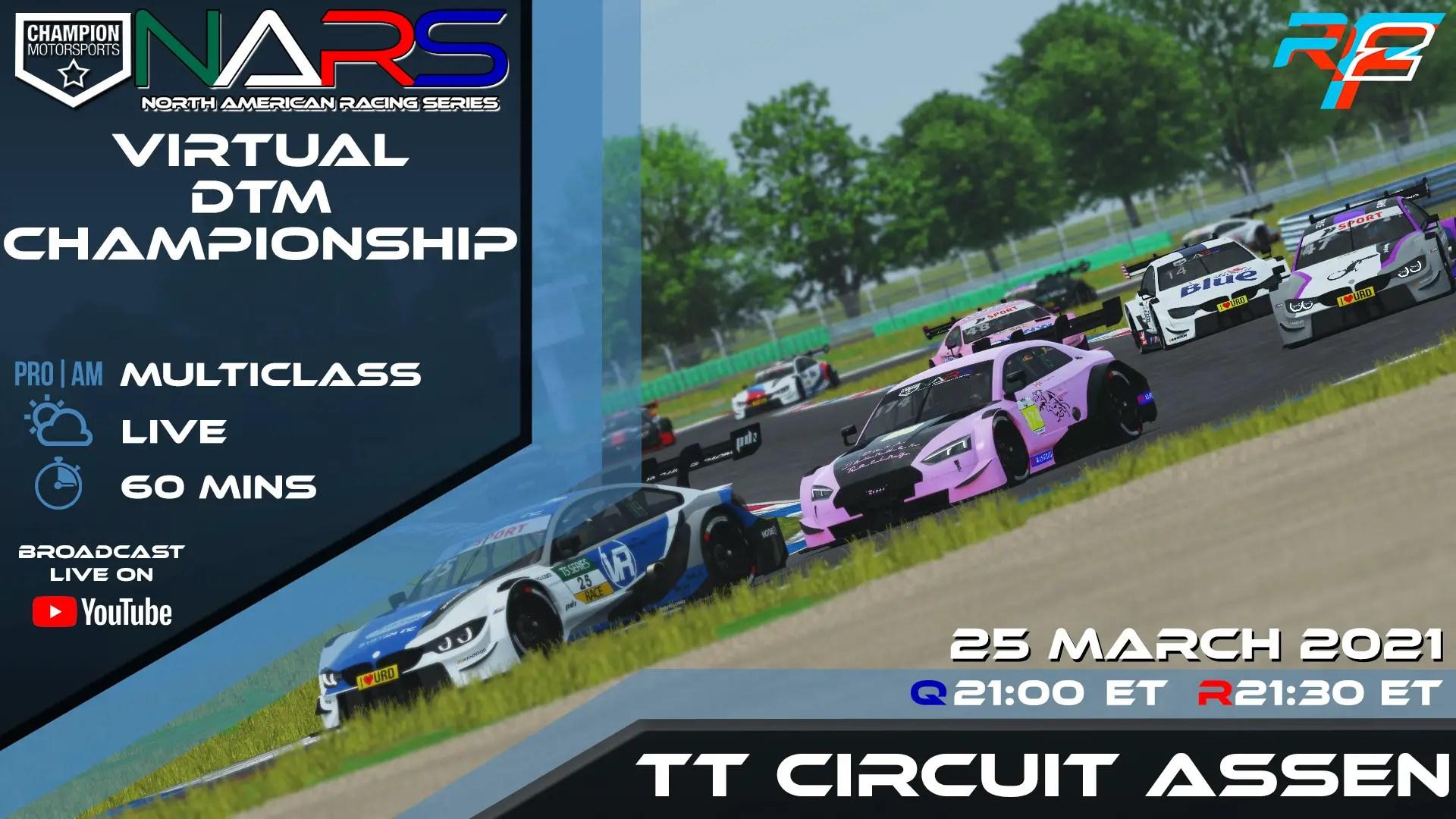 [rF2] CMS NARS – DTM Series – TT Circuit Assen