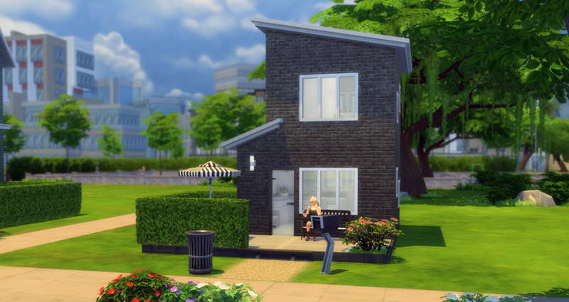 How to buy a house in sims 4 ps4 howsto co for Modern house 5x5
