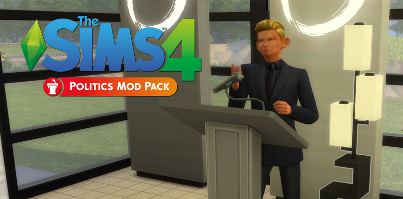 The Sims 4 Politics Mod Pack Sims Online